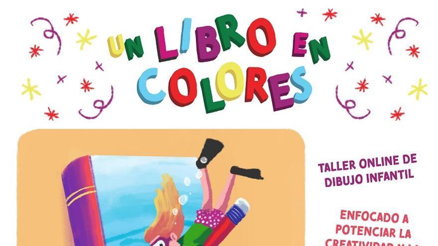 Talleres online de creatividad a través del dibujo 'Un libro en colores'