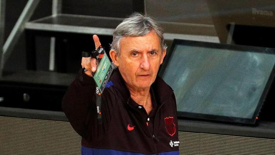 El Barça rescinde el contrato a Pesic tras perder la final ACB