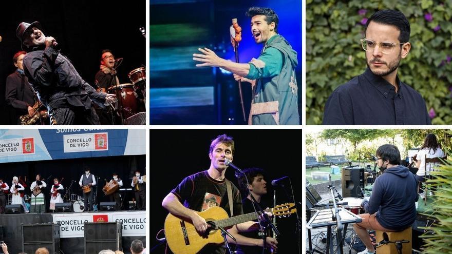 "Fin de semana de conciertos ""a esgalla"" en Vigo"