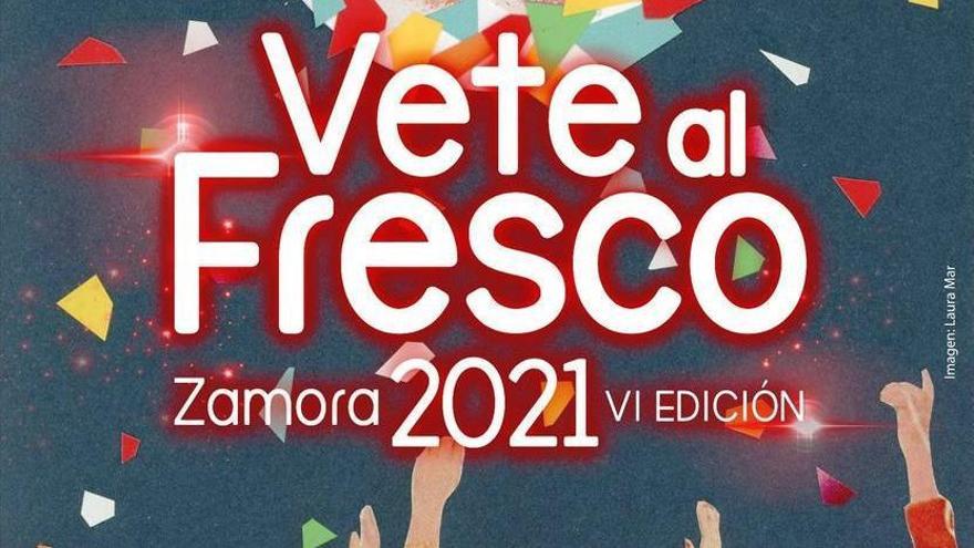 """Cartel """"Vete al Fresco"""" 2021"""