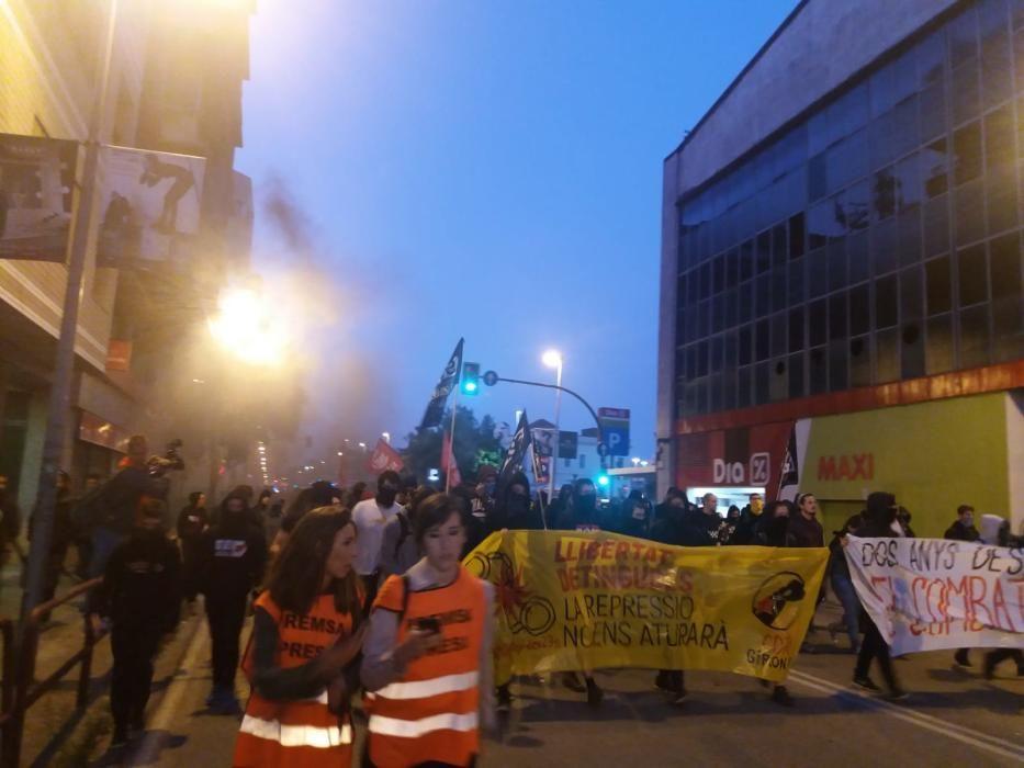 Manifestacions pel segon aniversari del referèndum de l'1 d'octubre