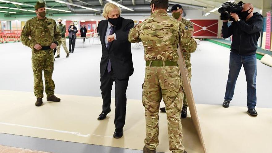Johnson visita Escòcia en plena expansió de l'independentisme