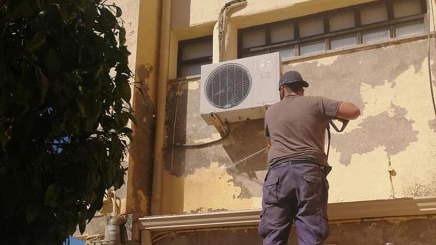 El Ayuntamiento de Portezuelo comienza las mejoras del pavimento y redes de agua en calles