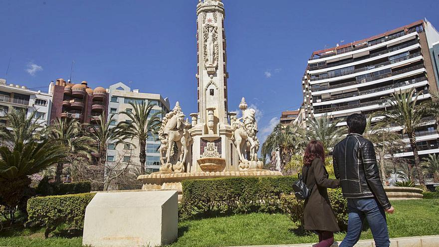 El bipartito de Alicante prevé que las obras en la fuente de Luceros empiecen en un mes y finalicen en octubre