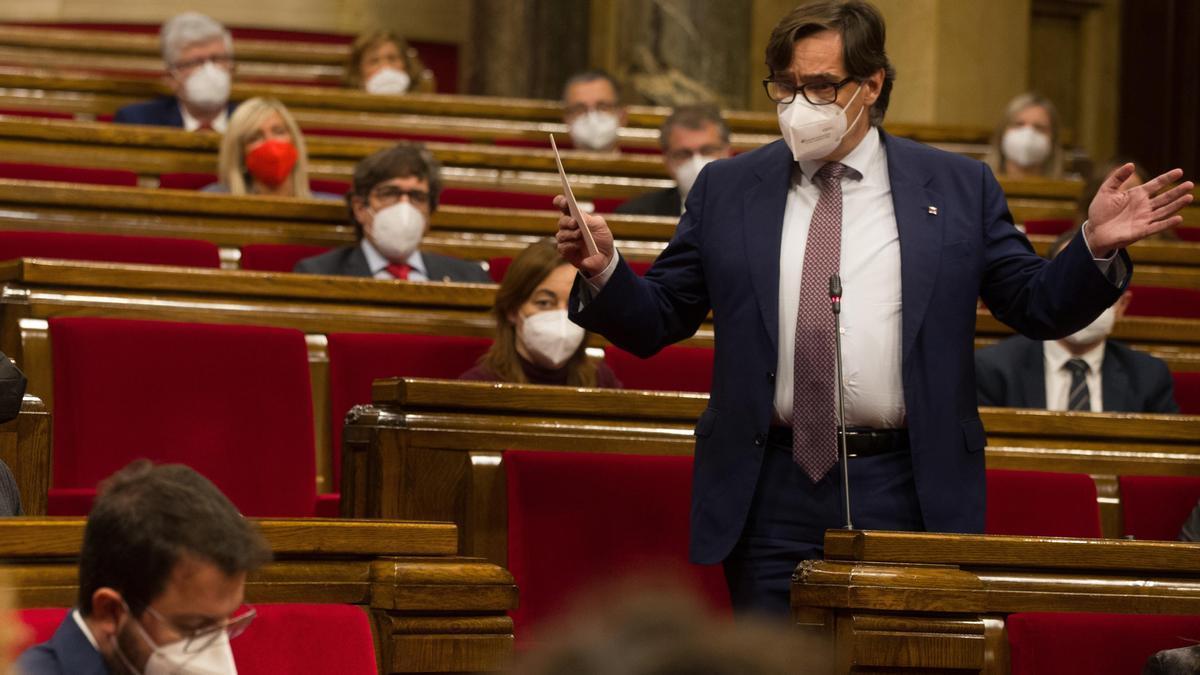 """Illa a Aragonès: """"Cada día que pasa se atenúa más su autoridad"""""""