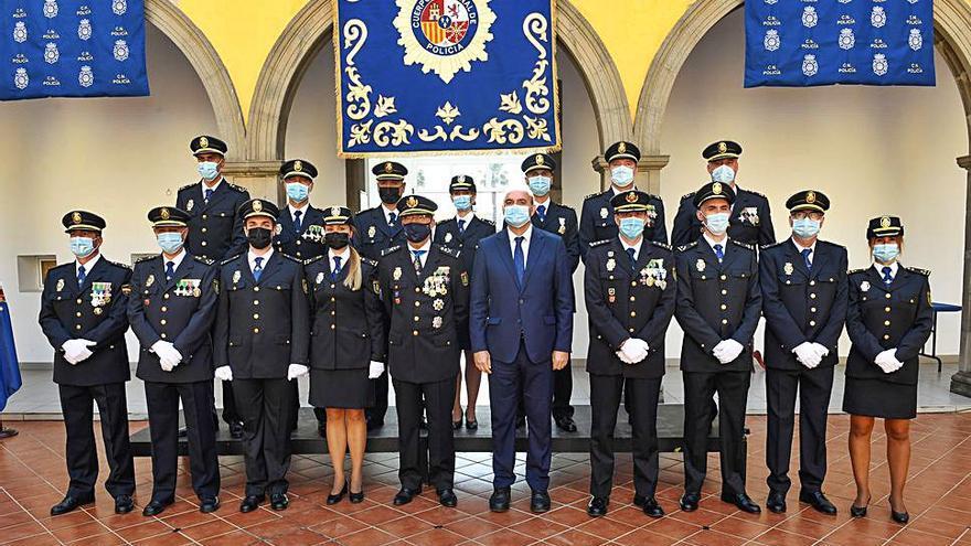 Anselmo Pestana preside la jura de 12 nuevos  inspectores de la Policía Nacional