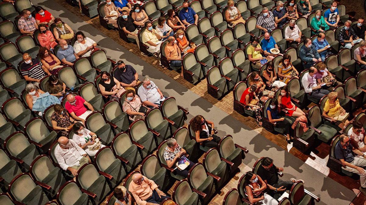 El Teatro Principal de Alicante, tras su reapertura en septiembre del pasado año. | ALEX DOMÍNGUEZ