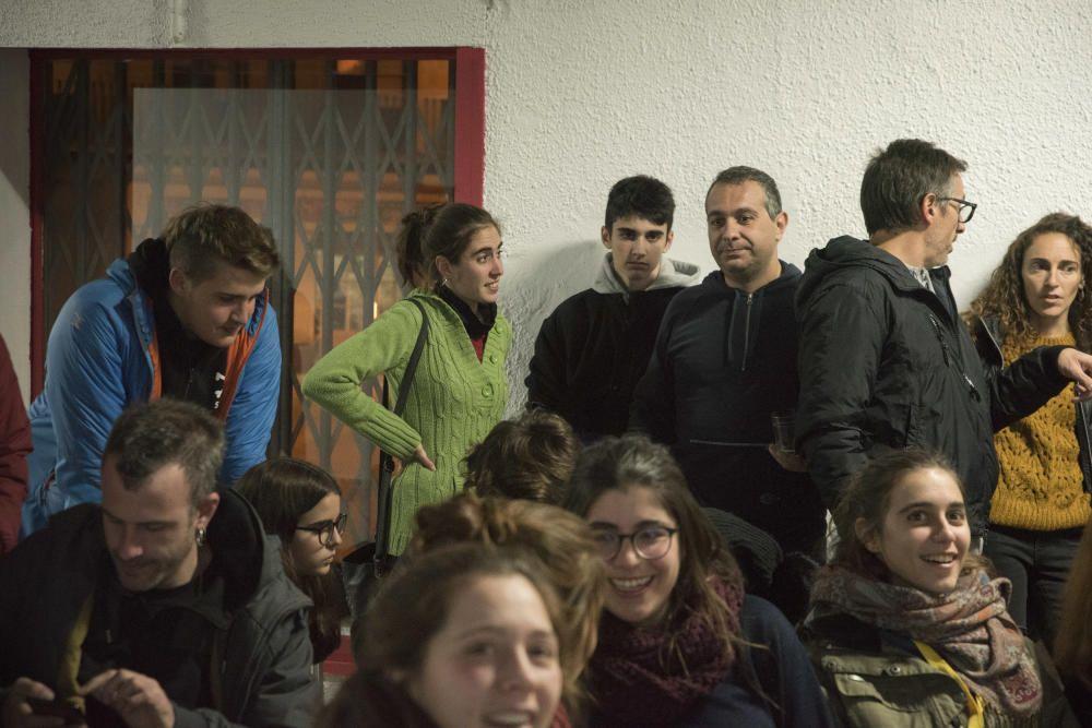 La nit electoral del 10-N a Manresa