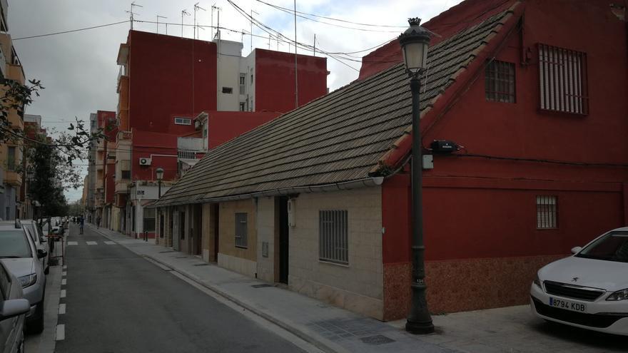 Cs logra aumentar la protección de las primeras casas edificadas en el Cabanyal  tras el incendio de 1875