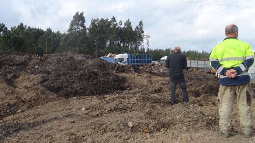 Extinguido el incendio de la planta de Figueiroa después de dos meses y medio