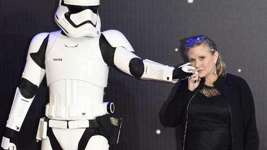 El último viaje estelar de Leia