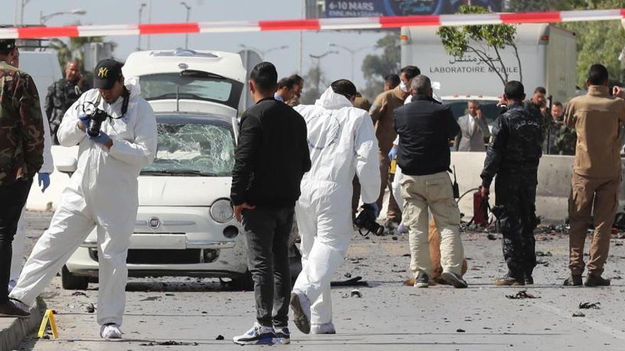 Alerta máxima en Túnez tras un ataque suicida con un muerto