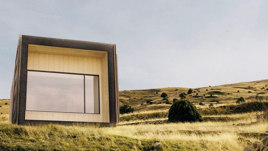 Así es la casa prefabricada de la startup de la Lanzadera de Juan Roig y que se monta en un día