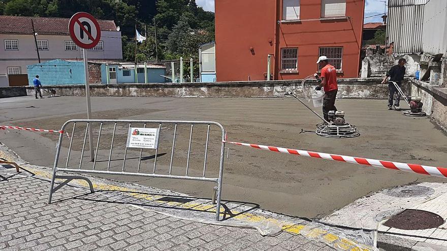 El aparcamiento frente al centro de salud abrirá la próxima semana