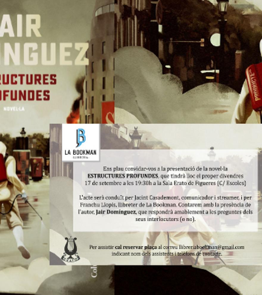 Presentació d'Estructures profundes de Jair Domínguez