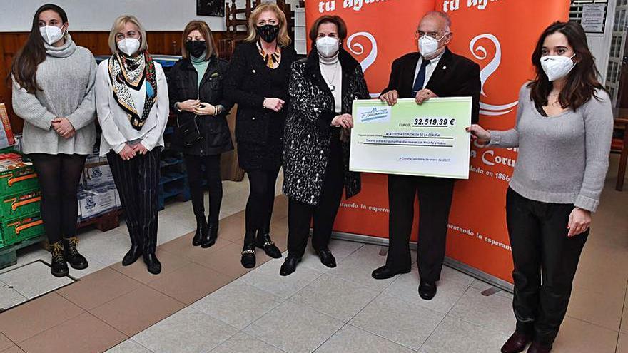 El Mercadillo dona 32.000 euros a la Cocina Económica