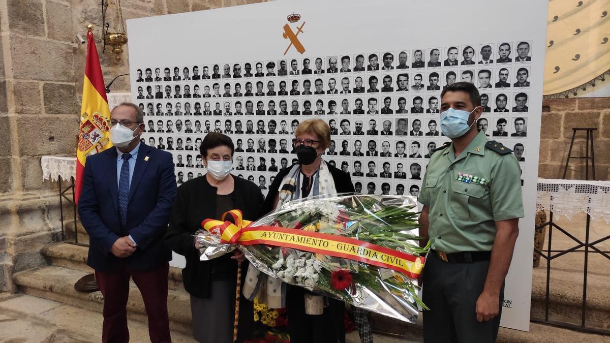 Homenaje al guardia civil Alfredo Díez Marcos, asesinado por ETA en 1981