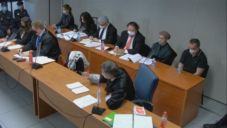 Juicio del crimen de Patraix: Explican los motivos de la baja calidad del audio de la conversación incriminatoria entre Maje y Salva