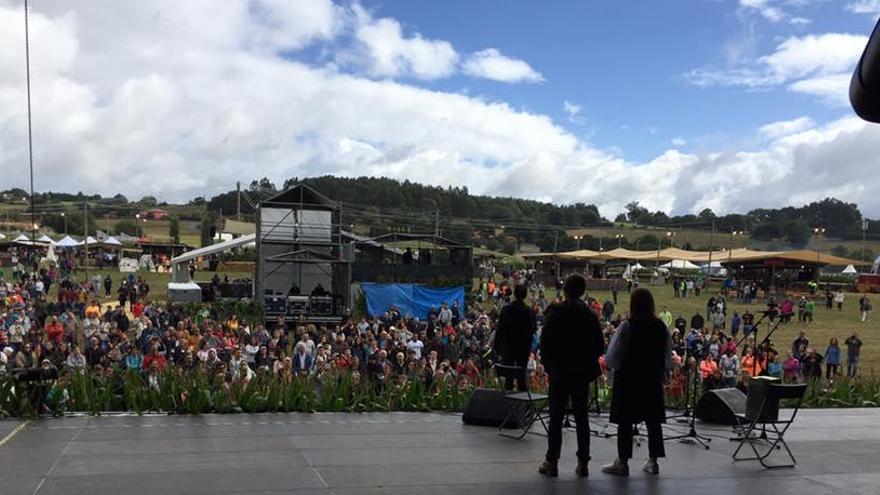 El Festival de la Luz arranca en Boimorto con 45 artistas