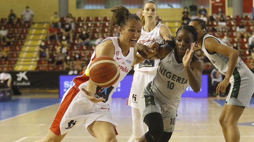 Torneo de selecciones de baloncesto femenino: España - Nigeria