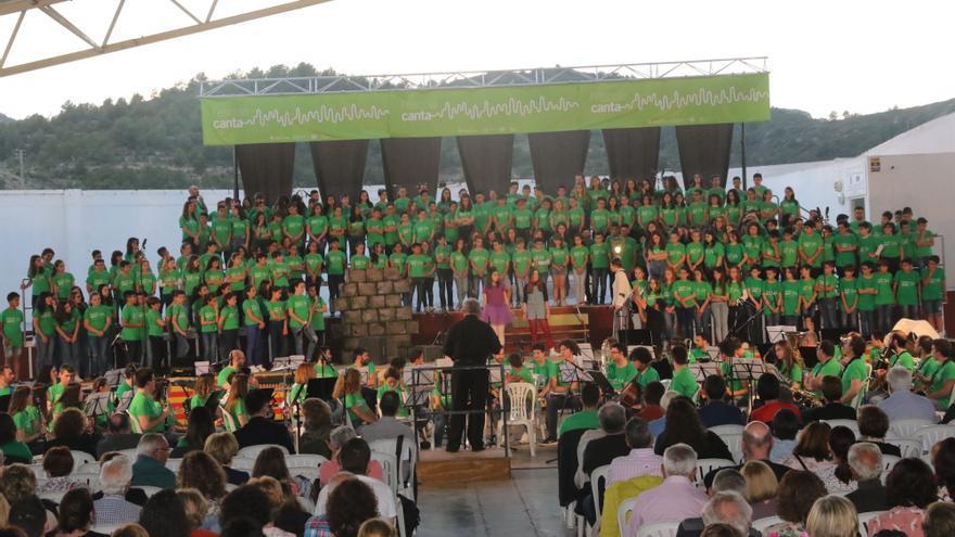 'L'escola canta' vuelve a los colegios de Castellón dos cursos después