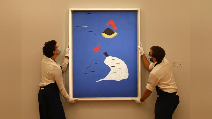 """Vendido un autorretrato de Rembrandt por 16 millones y un Miró """"por 24,5"""