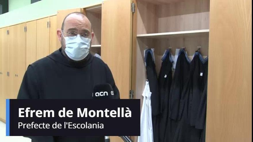 Preocupació a Montserrat per la caiguda d'alumnes nous a l'Escolania
