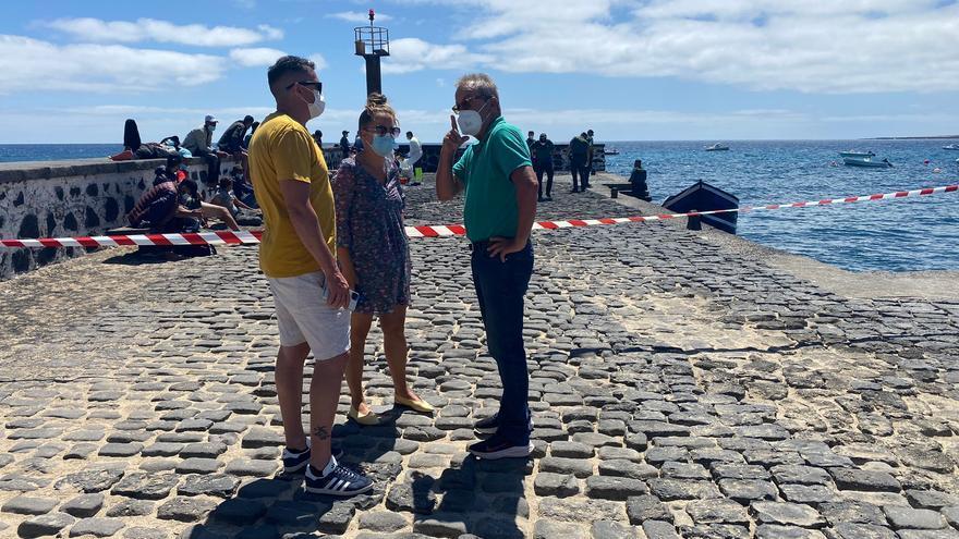 """Haría exige actuaciones urgentes por """"la llegada masiva y descontrolada"""" de pateras a Lanzarote"""