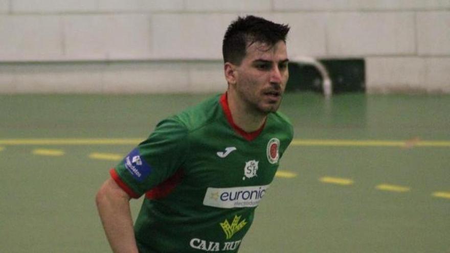 Jorge es presentado como nuevo jugador del InterSala Zamora