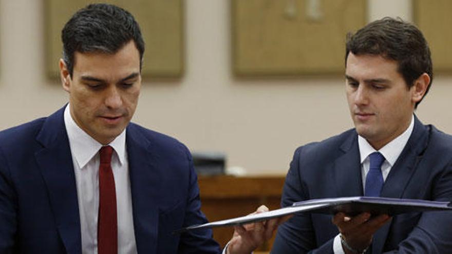 """Moody's ve """"negativo"""" para la economía el acuerdo PSOE-C's"""