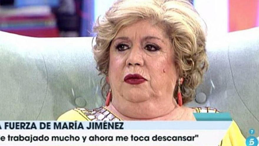 Los motivos del impactante cambio físico de María Jiménez