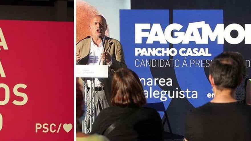 Illa usa un lema de las últimas elecciones gallegas