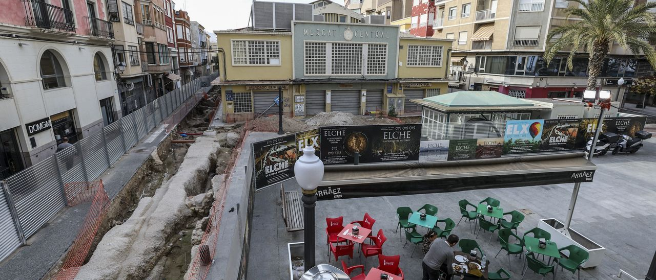 El mercado central de Elche.
