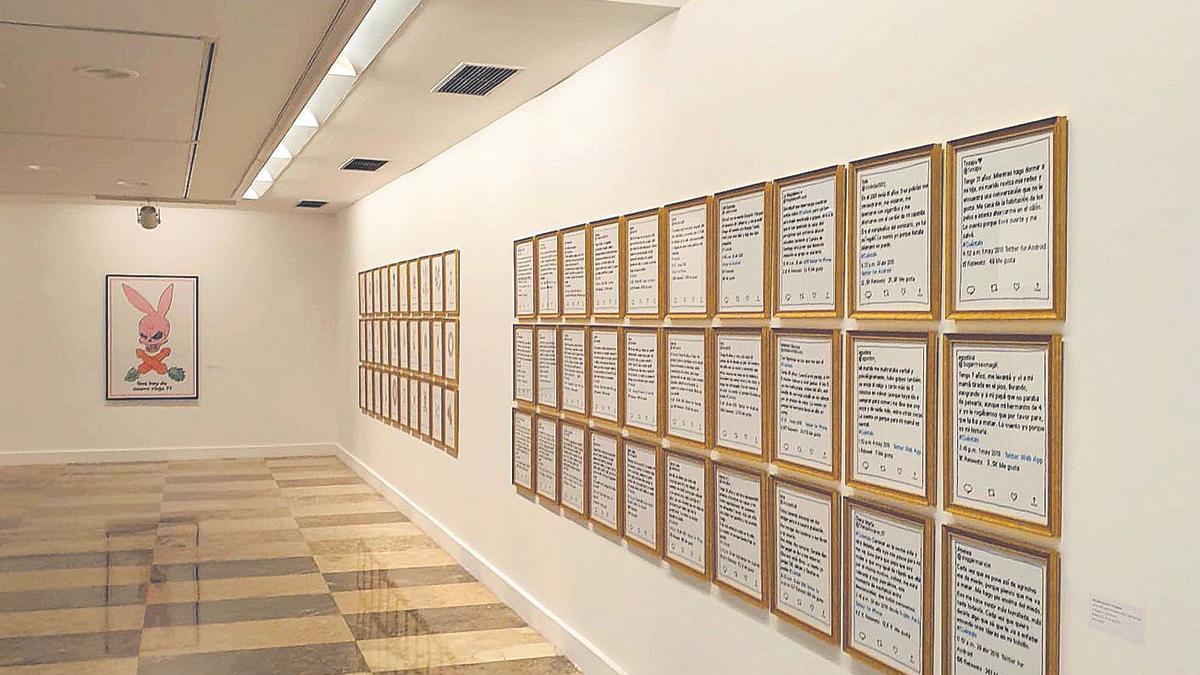 Exposición en Mieres Centru Cultural (MCC).