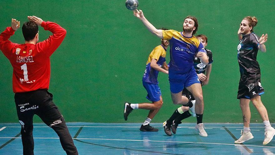 Las crónicas y los resultados de los partidos de balonmano en Asturias jugados el sábado