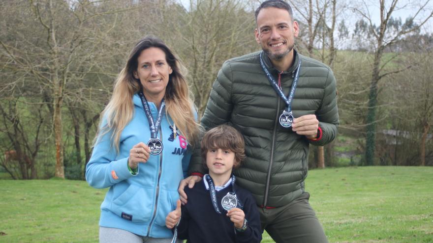 El gran estreno de Martín: con solo 6 años completa 17 kilómetros en su primera carrera por la montaña