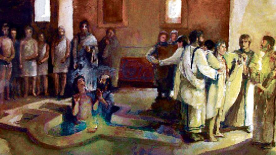 Als die ersten Christen nach Mallorca kamen