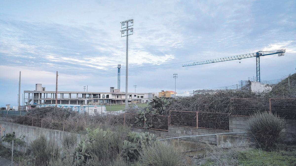Terrenos de la Ciudad Deportiva del CD Tenerife, La Laguna.