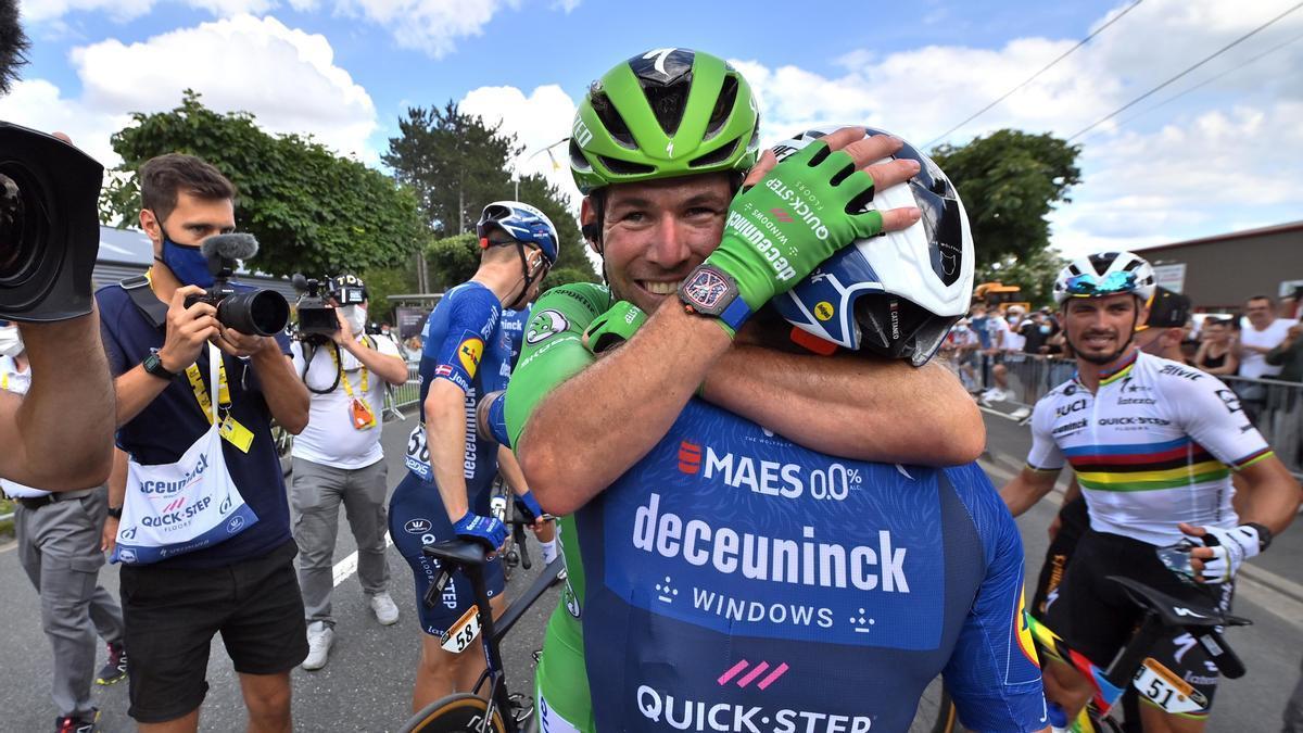 El corredor del Deceuninck Quick Step Mark Cavendish.