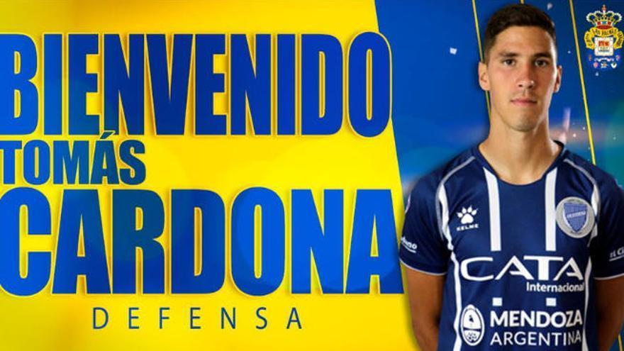 Oficial: Tomás Cardona, nuevo cerrojo amarillo