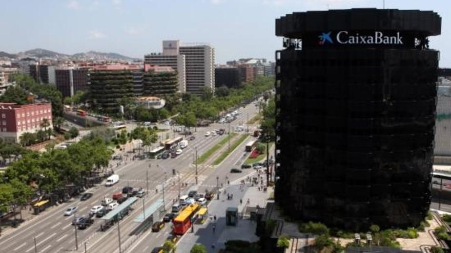 CaixaBank guanya 403 milions d'euros en el primer trimestre