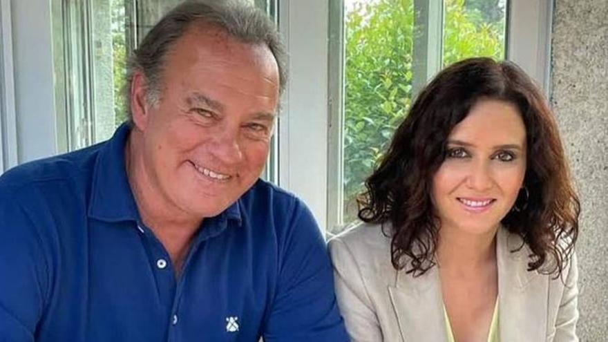 Telecinco lanza este jueves la entrevista de Bertín Osborne a Díaz Ayuso en 'Mi casa es la tuya'