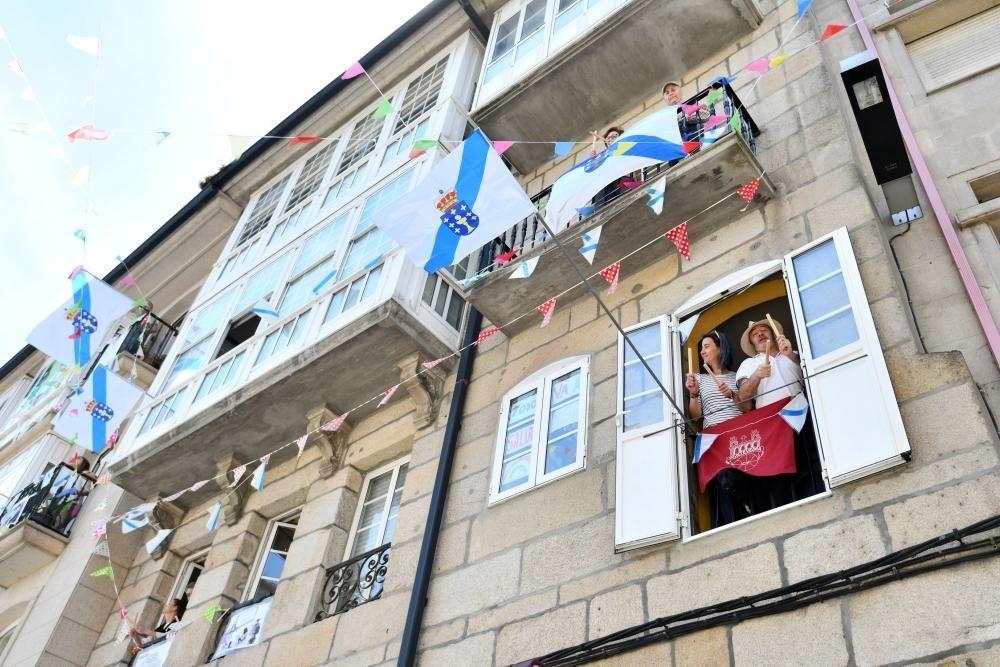 Un Día das Letras Galegas de balcón en balcón