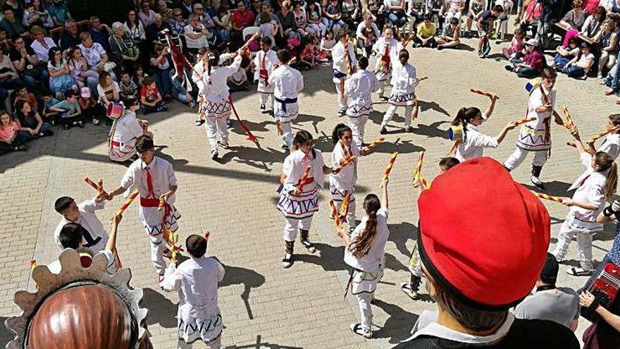 Balsareny recupera els actes tradicionals de la festa major adaptats a la normativa vigent