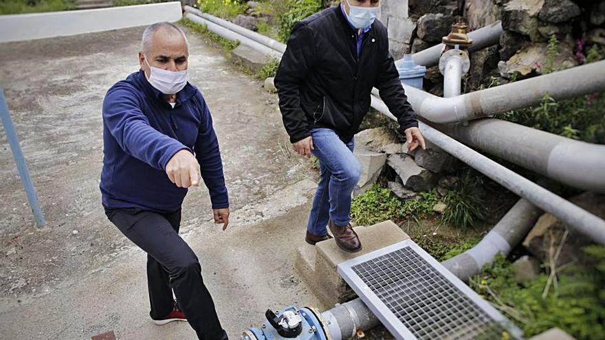 La Guancha sufre cada semana una media de 20 roturas en la red de agua