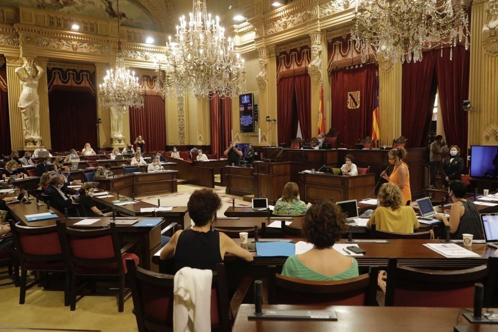 Pleno del Parlament (27/07/2021)