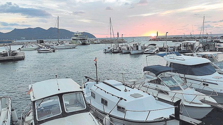 En son Servera el mal tiempo impide que las barcas salgan a pescar 'raors'