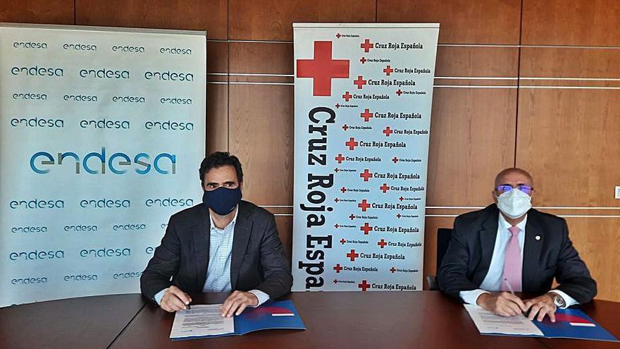 Endesa financia con 200.000 euros a Cruz Roja para que promueva la capacitación laboral