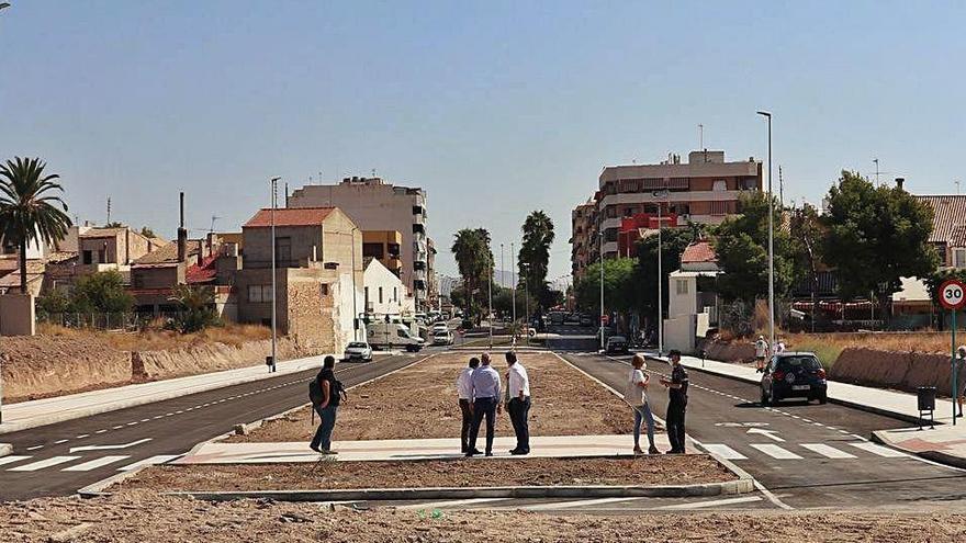 Mutxamel abre el nuevo acceso al casco urbano tras 30 años de trámites