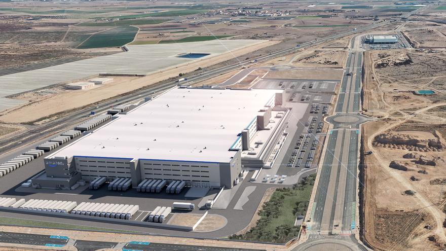 Amazon inaugura el próximo martes su centro logístico en Murcia, que creará 1.200 empleos